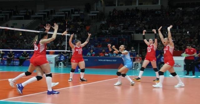 2019 Fıvb Voleybol Milletler Ligi: Türkiye: 1 - Belçika: 3