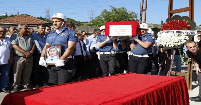 Genç Polis Memuruna Son Tören