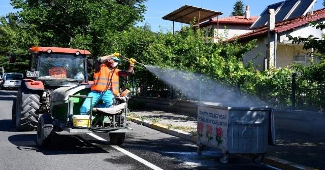 Isparta Belediyesinden Yaz Temizliği