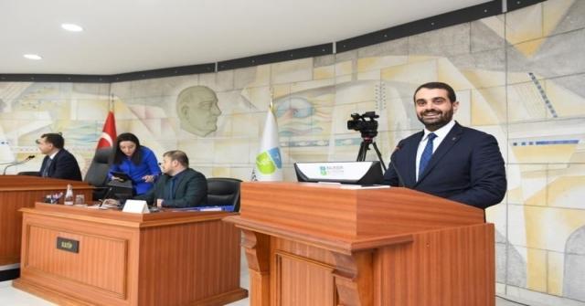Başkan Dağlı Büyükşehir Meclisinde