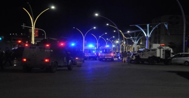Cizrede Devriye Gezen Mahalle Bekçilerine Bombalı Saldırı