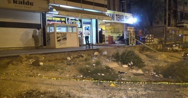 Diyarbakırda Silahlı Saldırı: 1 Yaralı