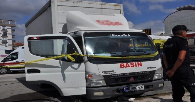 Gazete Dağıtım Şirketi Şoförü Araç İçinde Ölü Bulundu