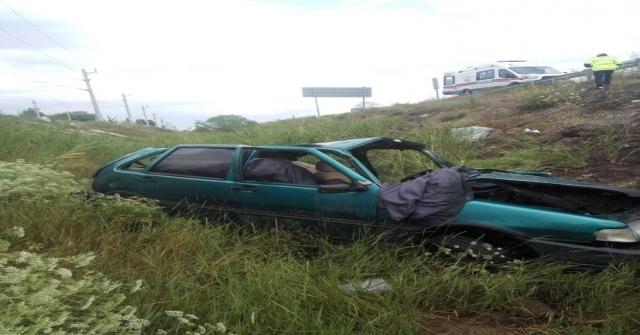 Sivasta Trafik Kazası: 1 Ölü, 1 Yaralı