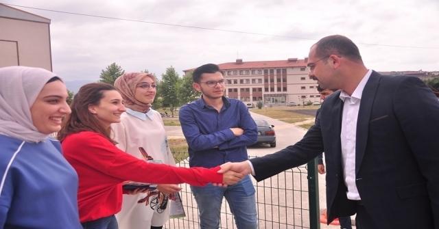 Tosya Belediye Başkanı Volkan Kavaklıgil, Öğrencilerle Bir Araya Geldi