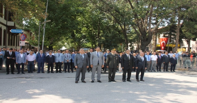 Atatürkün Çankırıya Gelişinin 94. Yıl Dönümü Kutlandı