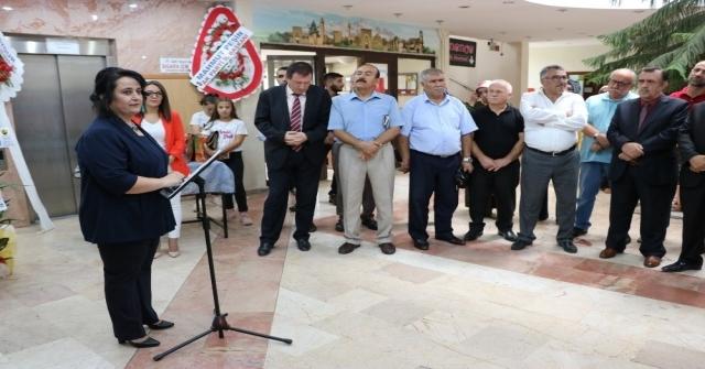 'Sudaki Damlaların Huzuru İsimli Ebru Sergisi Açıldı