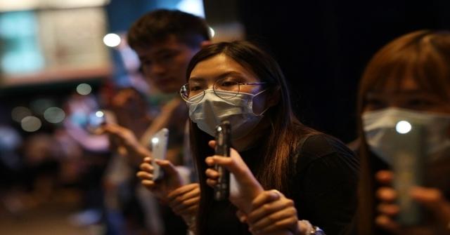 Hong Kongda Çine Karşı İnsan Zinciri