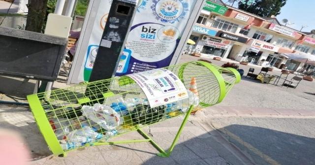 Gerzeye Plastik Atık Kutuları