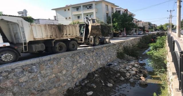 Muğla Büyükşehir 17 Kilometre Dere Temizliği Yaptı