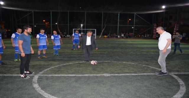 Halı Saha Turnuvasına Ali Tandoğan Damgası