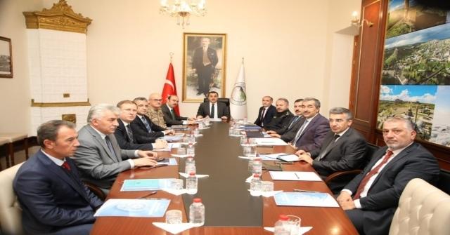 Karsta Üniversite Güvenlik Koordinasyon Toplantısı Yapıldı