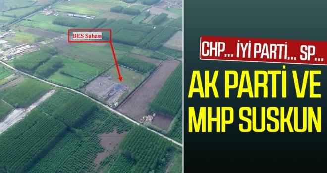 AK Parti veMHP suskun