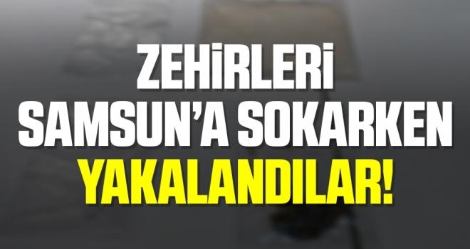 İstanbul'dan uyuşturucu getirirken yakalandılar: 4 gözaltı