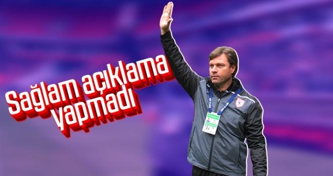 Yılport Samsunspor Teknik Direktörü Ertuğrul Sağlam Açıklama Yapmadı