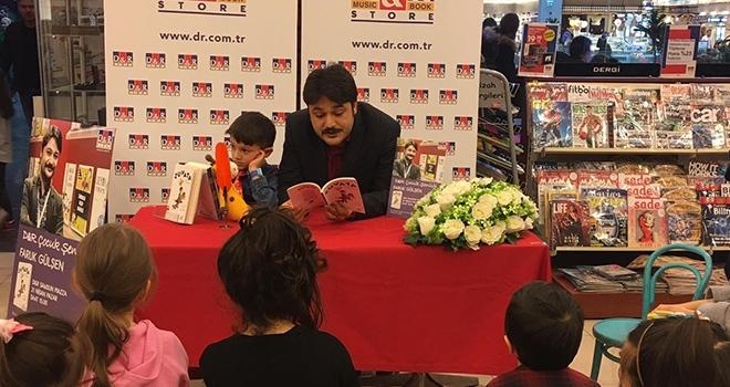 Yazar Gülşen çocuklarla buluştu