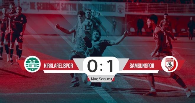 GMG Kırklarelispor: 0 Yılport Samsunspor: 1 (Maç sonucu)