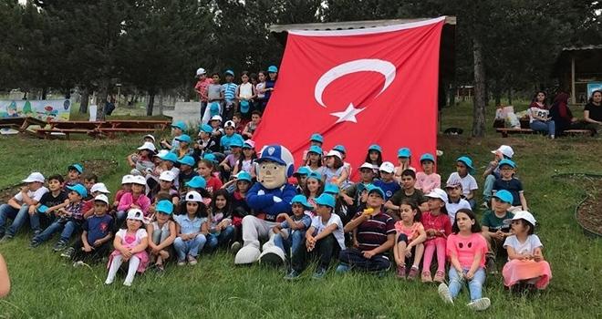 Tokat'ta çocuklar 'KankaPolisle' biraraya geldi