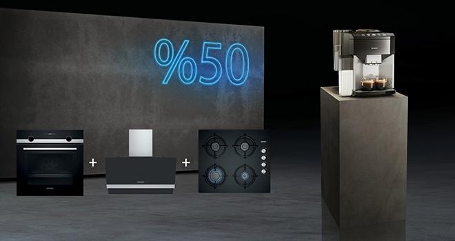 Siemens'ten Temmuz'a özel avantajlı Ankastre Set Kampanyası