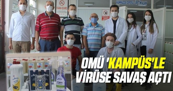OMÜ 'Kampüs'le virüse savaş açtı