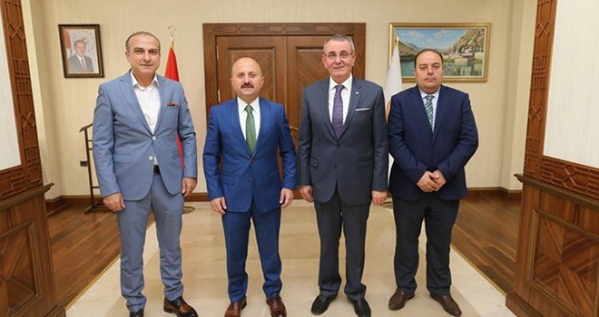 TSO Başkanları'ndan Vali Varol'a ziyaret