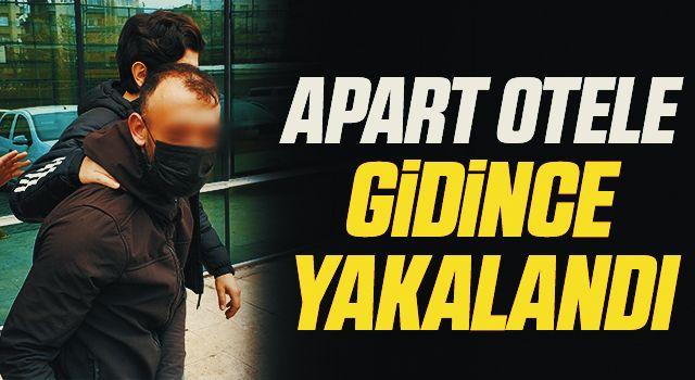 15 yıl cezası bulunan şahıs apart otele gidince yakalandı