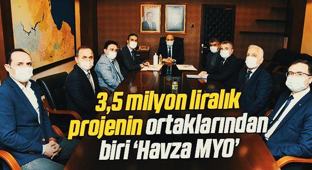 3,5 milyon liralık projenin ortaklarından biri 'Havza MYO'