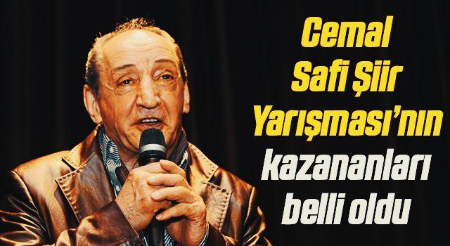 Cemal Safi Şiir Yarışması'nın kazananları belli oldu