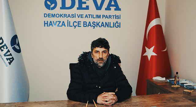 DEVA Partisi Havza ilçe binası hizmete açıldı