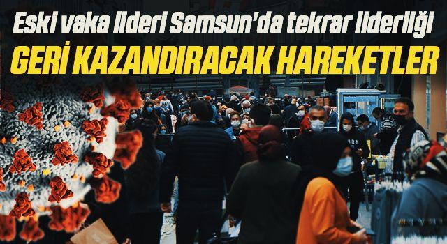 Eski vaka lideri Samsun'da tekrar liderliği geri kazandıracak hareketler