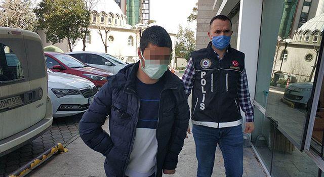 İkametinde uyuşturucu hap ele geçen şahıs gözaltına alındı