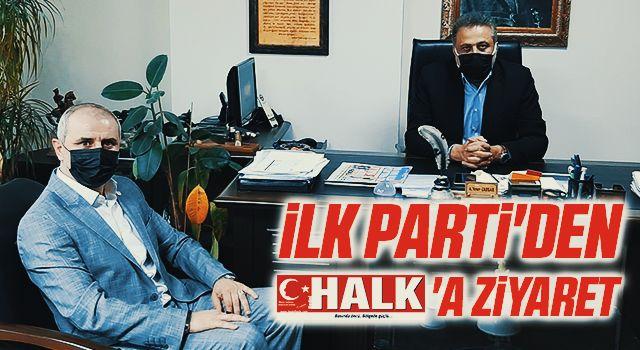 İlk Parti'den HHALK'a ziyaret