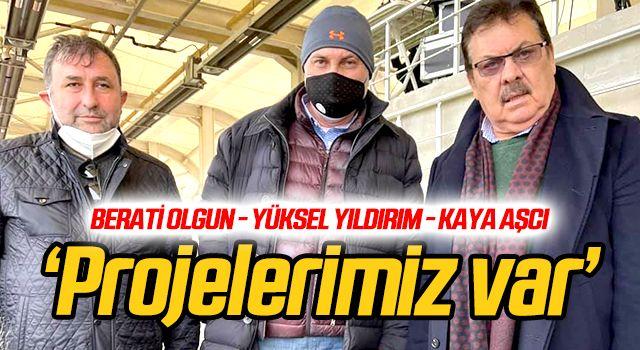 'İstanbul'da projelerimiz var'