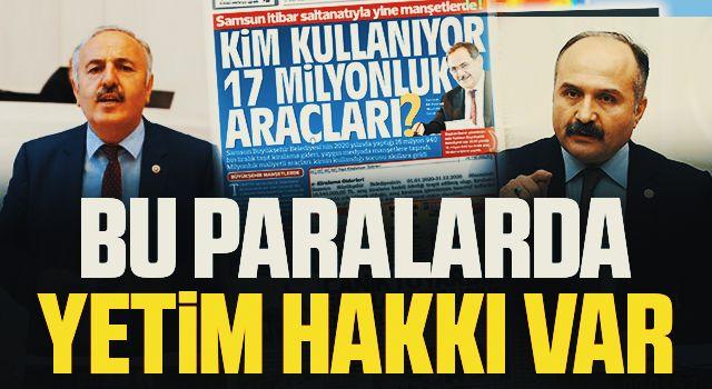İYİ Partili Bedri Yaşar ve Erhan Usta'dan Tepki: Bu Paralarda Yetimlerin Hakkı Var