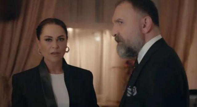 Oynadığı dizide tokadın dozunu kaçıran Hülya Avşar, partneri Ertuğrul Postoğlu'nun çenesini çıkarttı