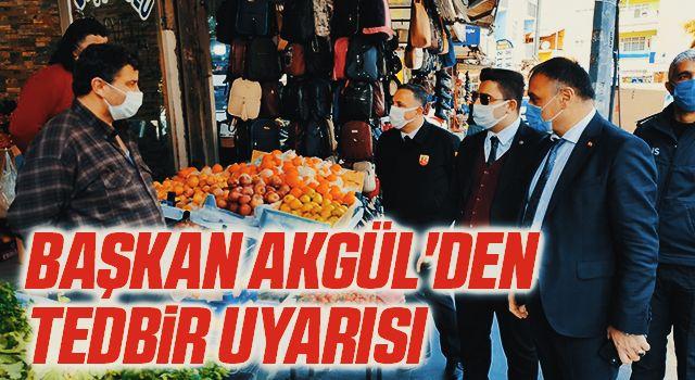 Salıpazarı Belediye Başkanı Akgül'den tedbir uyarısı