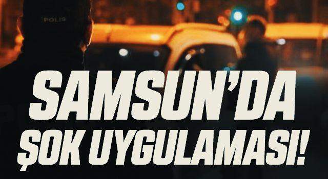 Samsun'da çeşitli suçlardan aranan 33 kişi yakalandı