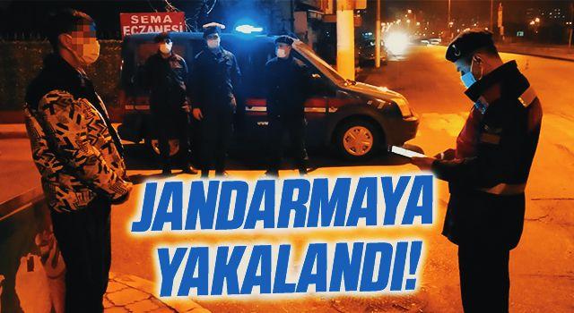 Samsun'da karantina ihlali yapan bir kişi jandarmaya yakalandı