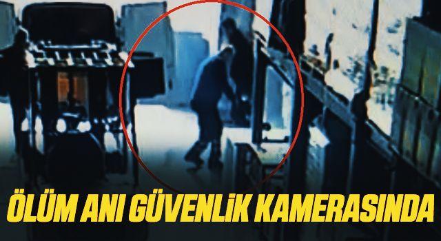Samsun'da Ölüm Anı Güvenlik Kamerasında!