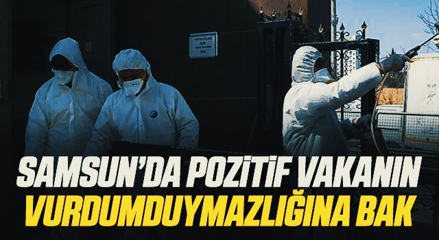 Samsun'da Pozitif Vakanın Vurdumduymazlığına Bak!