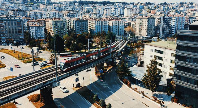 Samsun'da tramvayların yedek parçalarının yerli üretimiyle 6 milyon liranın üzerinde tasarruf sağlandı