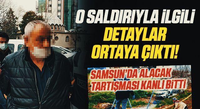 Samsun'daki 2 kişinin öldüğü silahlı saldırının 70 bin liralık alacaktan kaynaklandığı ortaya çıktı