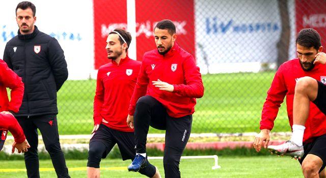 Samsunspor, Bursaspor maçı hazırlıklarını tamamladı
