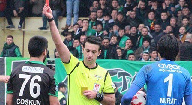 Samsunspor – Bursaspor maçının hakemi açıklandı