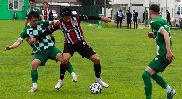 Samsunspor U19, Bursa'da kaybetti
