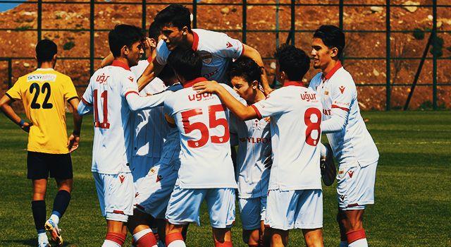 Samsunspor U19'dan Net Galibiyet