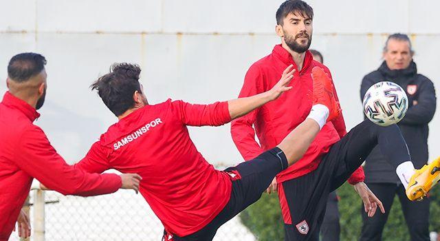 Samsunspor'da Boluspor maçı hazırlıkları