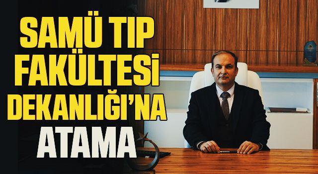 SAMÜ Tıp Fakültesi Dekanlığı'na Prof. Dr. Ergin Kariptaş atandı
