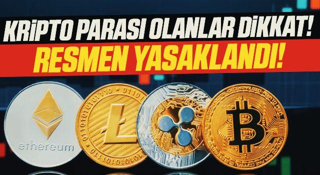 Son dakika! Merkez Bankası'ndan kripto para açıklaması: Resmen yasaklandı!