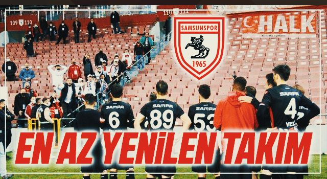 TFF 1. Lig'in en az yenilen takımı Samsunspor
